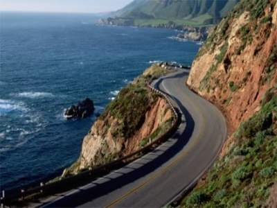 Road Trip Along the Pacific Coast Highway (California's Highway 1), USA