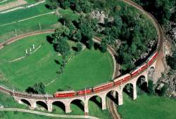 Bernina Rail Line